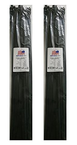 Extra Heavy Duty Cable Ties. Large Nylon Industrial Grade 17
