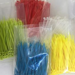 FREE SHIPPING 3x100mm Self-Locking Plastic Nylon Wire Cable