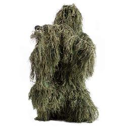 VIVO Ghillie Suit M/L Camo Woodland Camouflage Forest Huntin