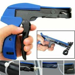 Heavy Duty Cable Zip Ties Automatic Cut off Gun Tool Tension