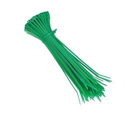 Heavy Duty Green Color Cable Ties - 6 Inch Length 50 Pounds