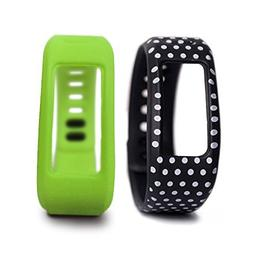 iCasso Replacement 2 Pieces Wrist Band with Clasp for Garmin