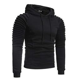 kaifongfu Hooded Tops,Men Hoodies Top Blouse Tracksuits for
