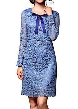 L&M Sapphire Blue Mother Of The Bride Dresses Long Sleeves B