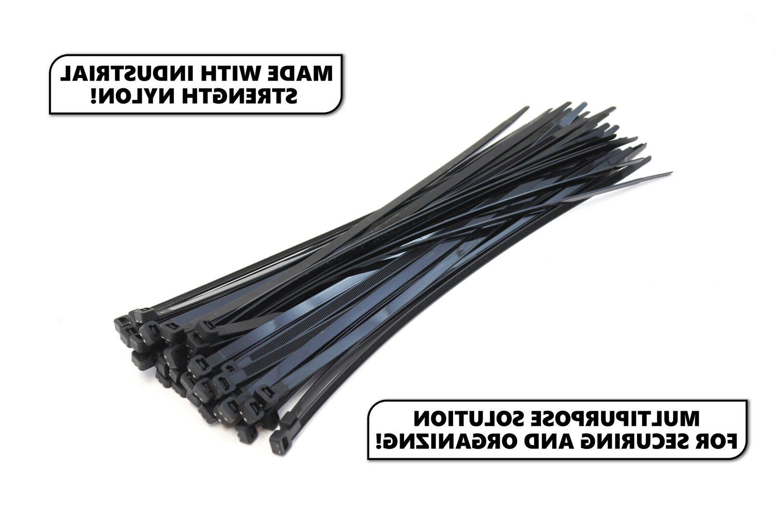 """100 Extreme Heavy 18"""" 175 Pound Cable Nylon Wide"""