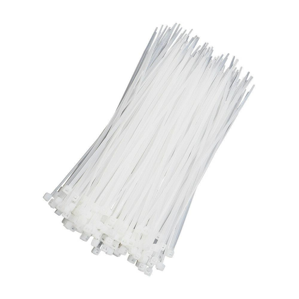 100 3*100mm Cable Ties Releasable Clear