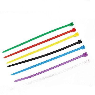100 3*100mm Self-locking Cable Tie Network Tag Ties