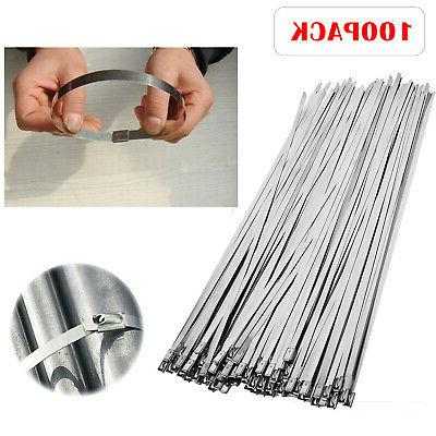 100 pcs 304 stainless steel 12 exhaust