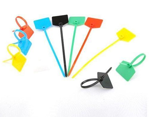 Acite Inches Nylon Marker Cable Ties Cord Label Wire