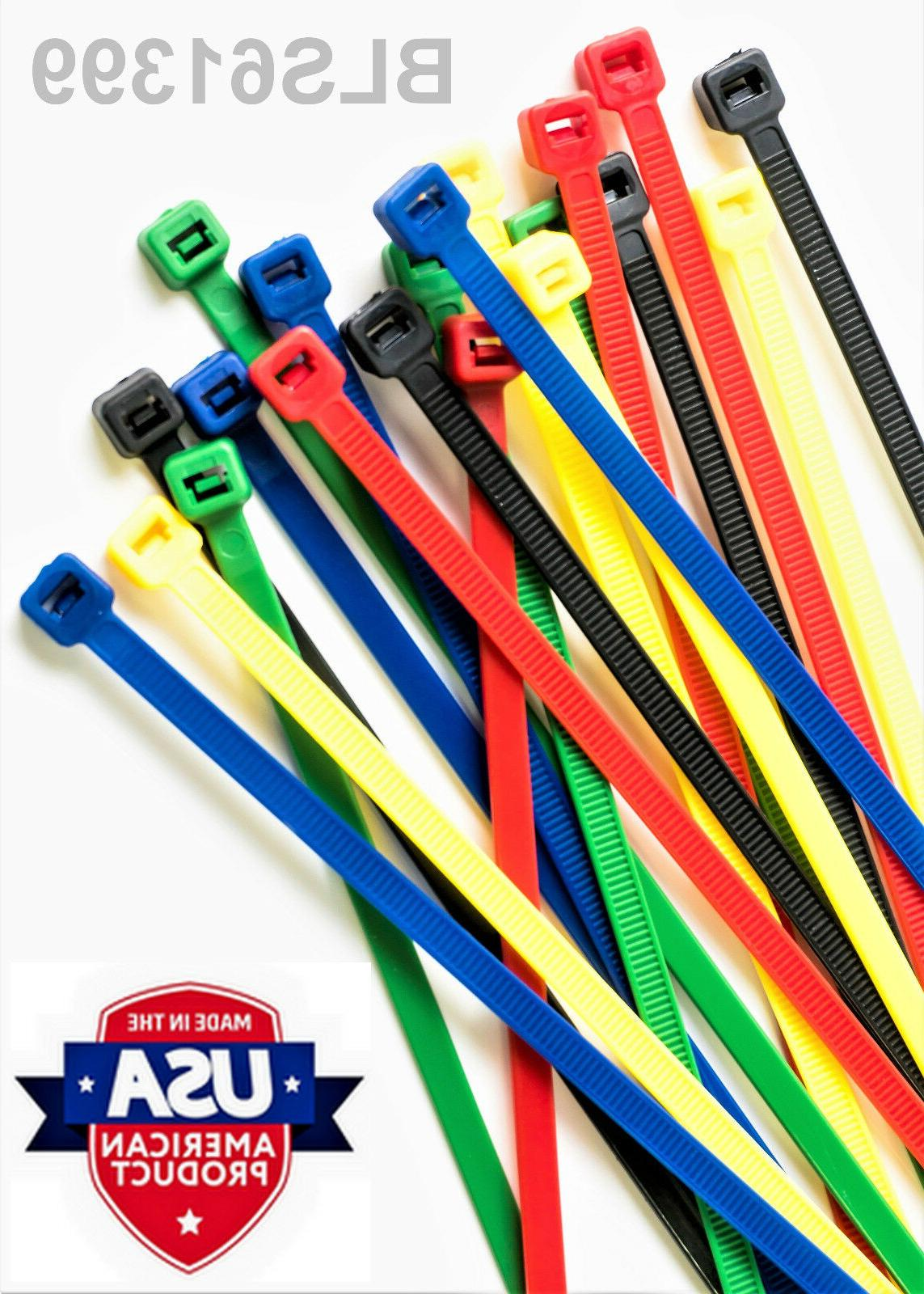 100 Made TIES Nylon Wire Cable
