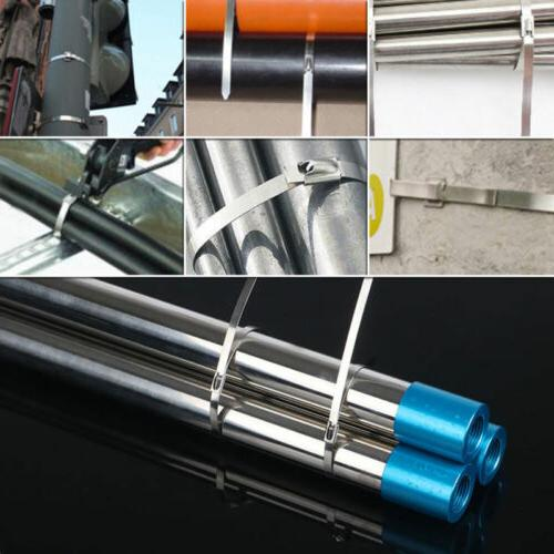 100 Locking Stainless Cable Zip Wire Exhaust