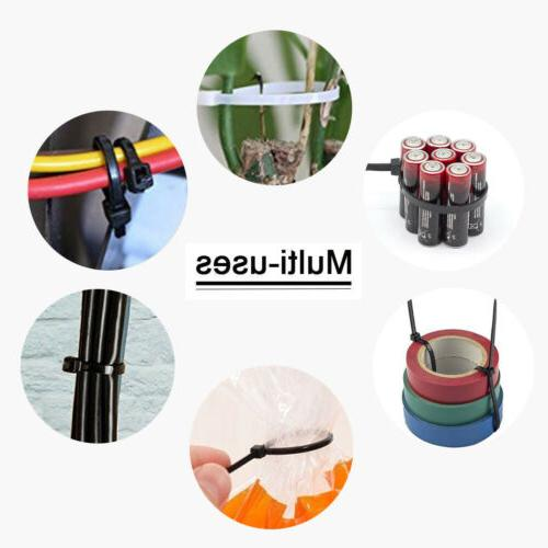 100pcs Nylon Wire Line Strap Organizer Duty US