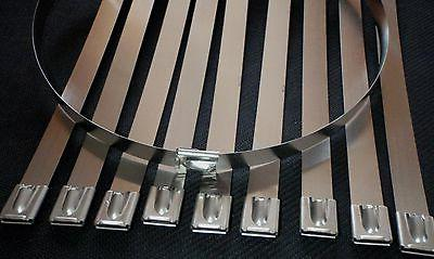10pc stainless steel 36 length exhaust header