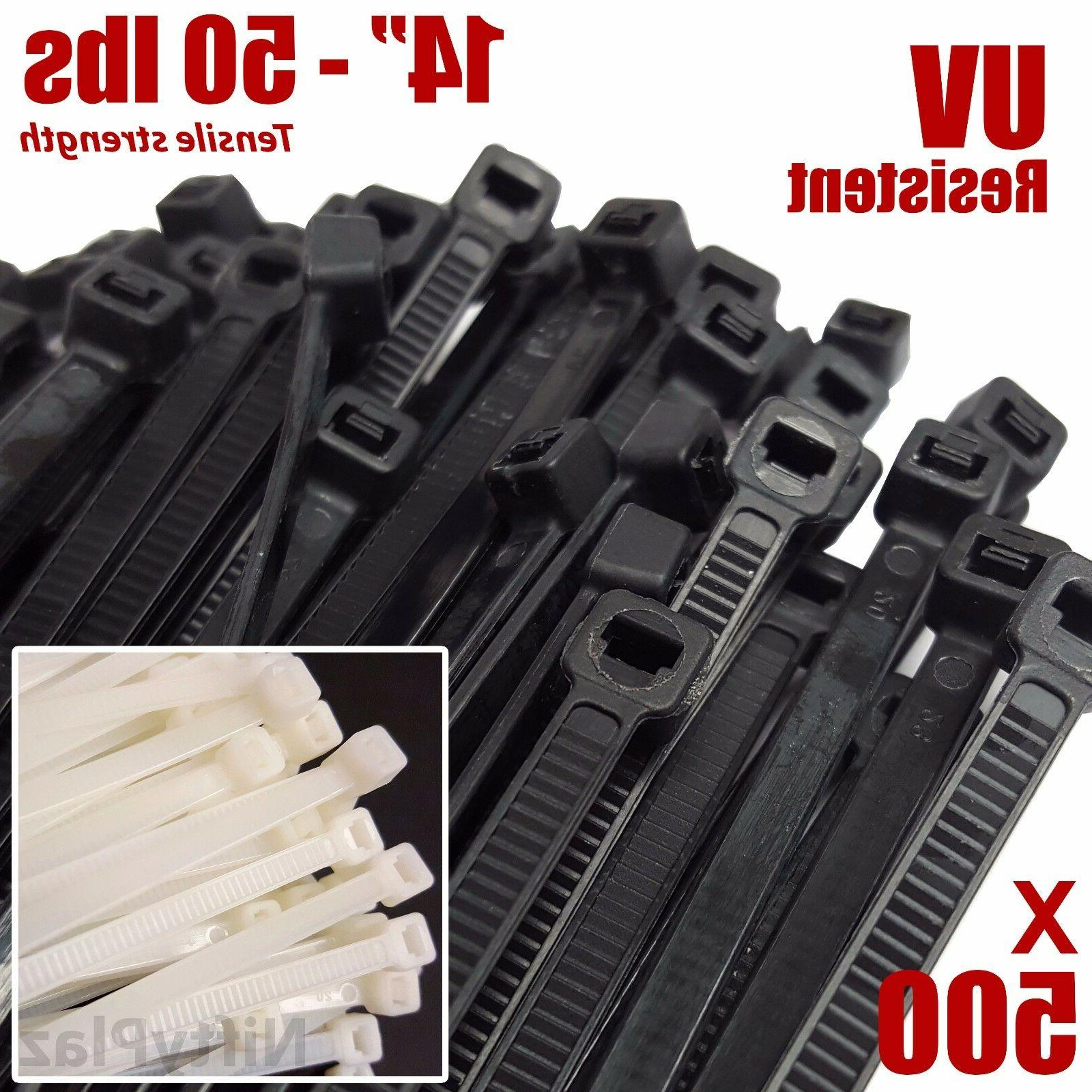 14 inch cable ties 50 lbs uv