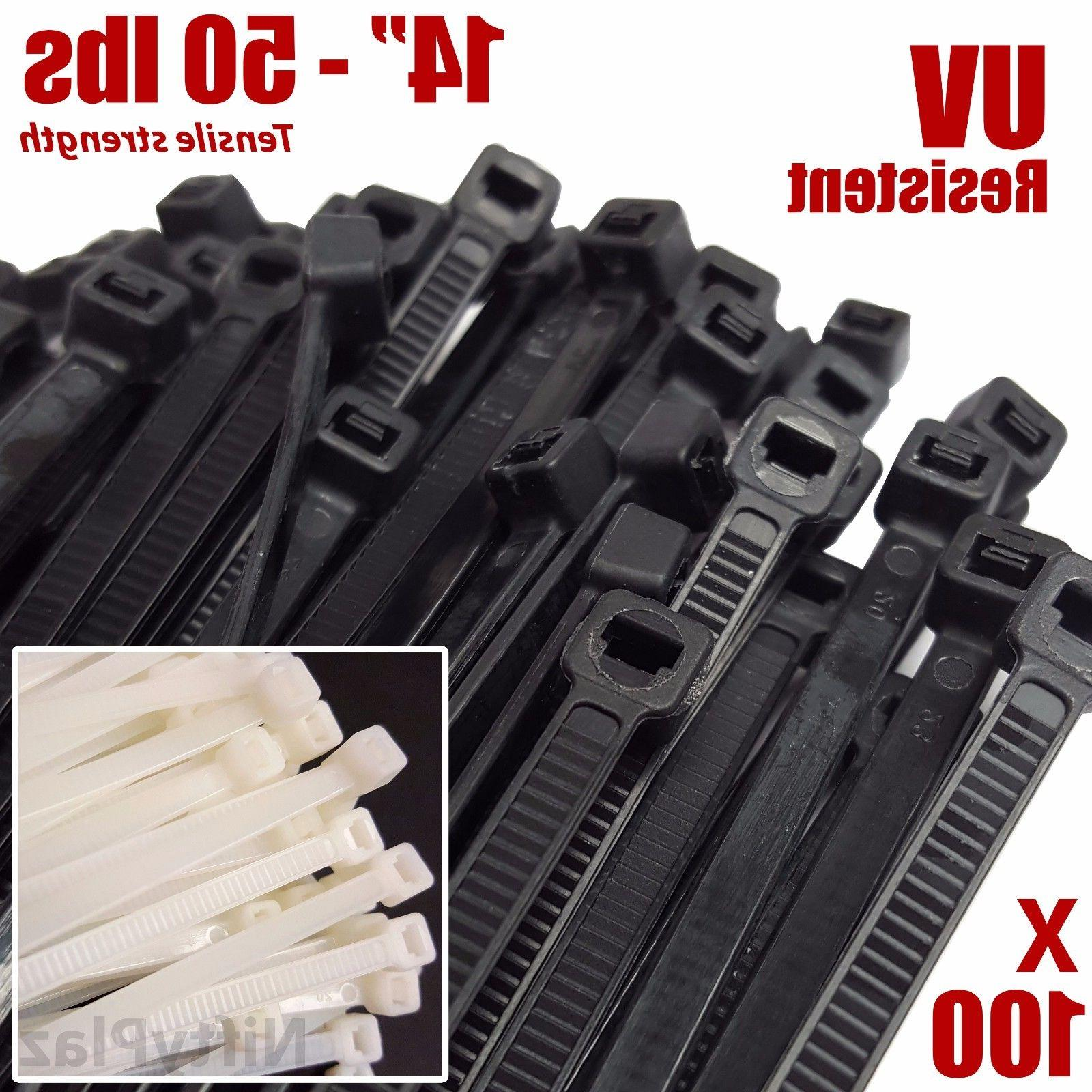 14 inch cable ties heavy duty 50