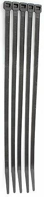"15"" Black 120lb 100 Pack Zip Ties Choose Size/Color By Bolt"