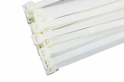 """15"""" White 120lb Ties By Bolt Dropper"""