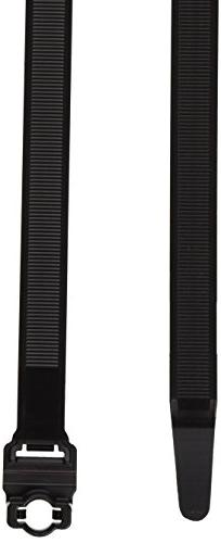 Hellermann Tyton 157-00034 Wide Strap Cable Tie, 8mm Stud Mo