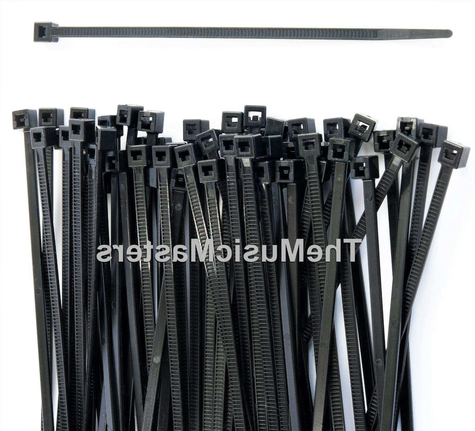 "20 Black 36"" Wire Cable Zip Ties Nylon USA Made Tiger Ties"
