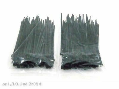 200 pack 4 inch zip cable ties