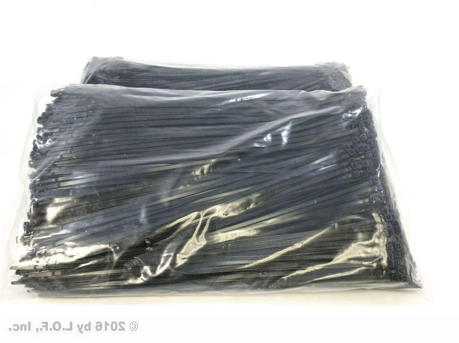 2000 Black Heavy Duty Wire Nylon