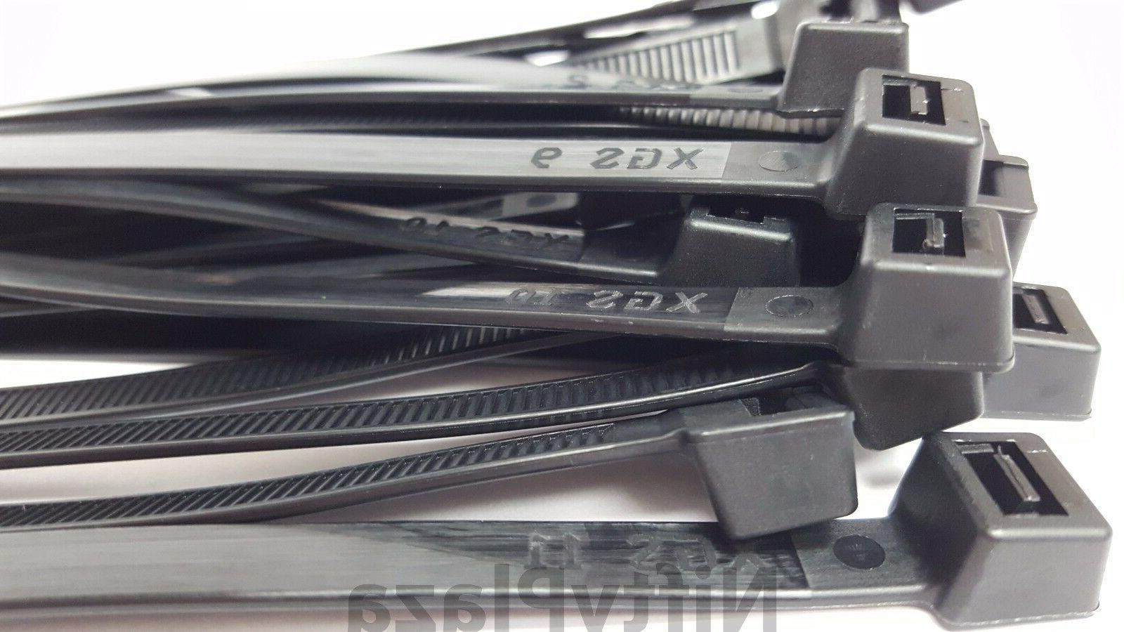 NiftyPlaza Cable Ties - Heavy Duty lbs