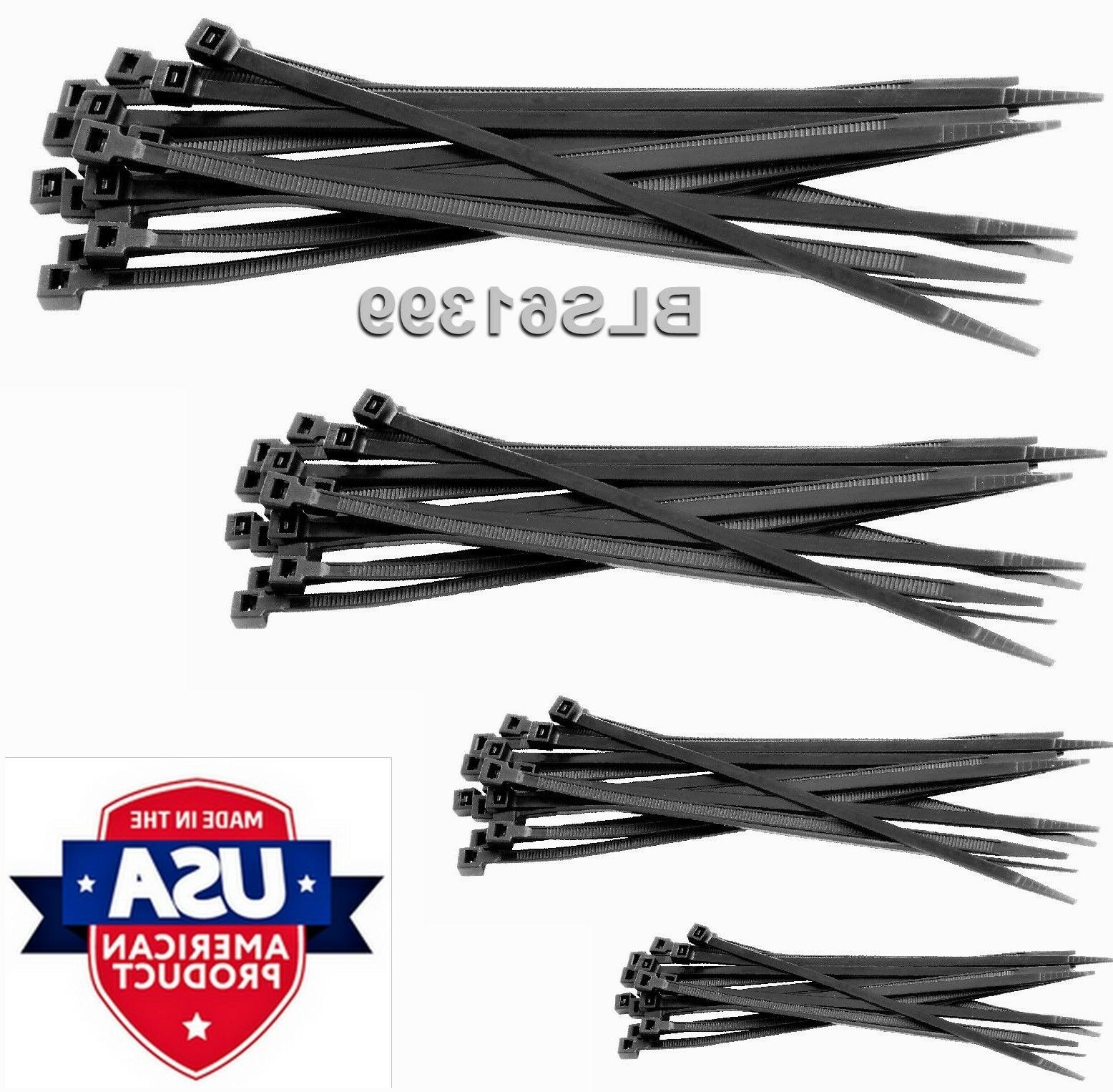 300 TIES 8 inch Cable Ties Tie Wraps