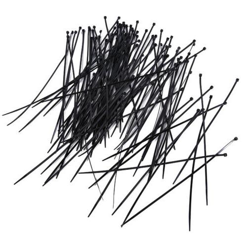 """4"""" 6"""" 8"""" Cable Ties Tie Pack Assorted Self Locking"""