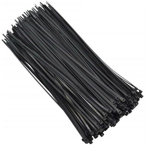 "1000 PIECES BLACK 4"" INDUSTRIAL WIRE CABLE ZIP TIES NYLON TI"