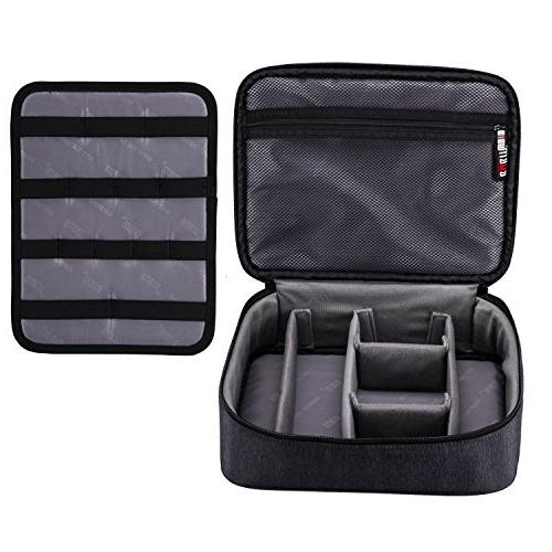 BUBM Large Electronic Accessories Carrying Organizer with Ca