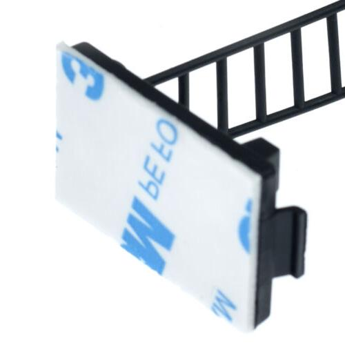 """Adjustable Cable Wire Cord Clamp Mount Holder Adhesive 1.0"""""""