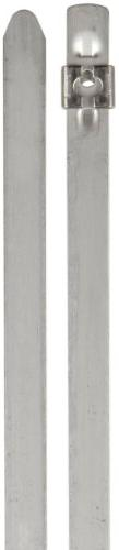 BAND-IT AS6229 Tie-Lok 304 Stainless Steel Cable Tie, 3/8 Wi
