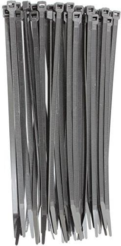 """6"""" Black 40lbs  Zip Ties, Choose Size/Color, By Bolt Dropper"""