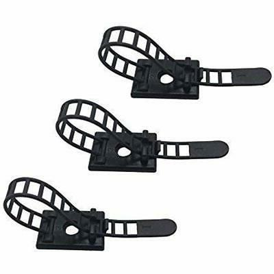 cable clips adhesive ties