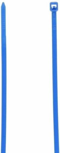 Monoprice Cable Tie 4 inch 18LBS, 100pcs/Pack - Blue
