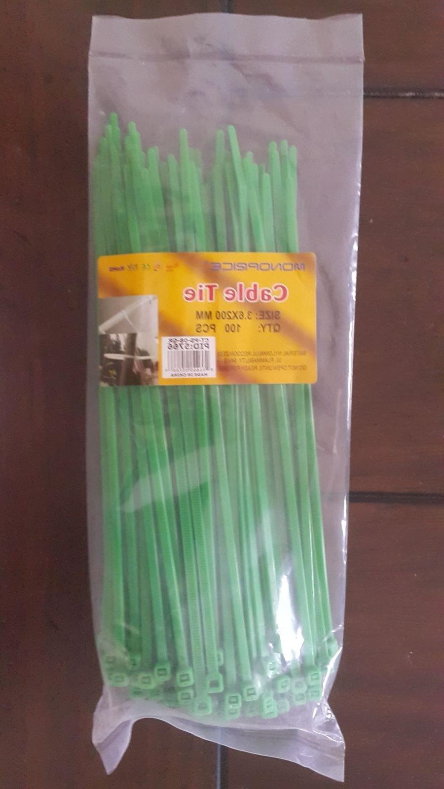 cable tie 8 inch 40lbs 100pcs pack