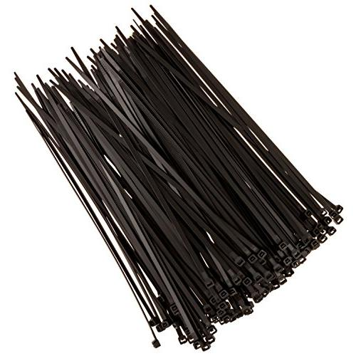 Strong Ties Zip Ties, Duty, lb. Strength, Outdoor Black, 150