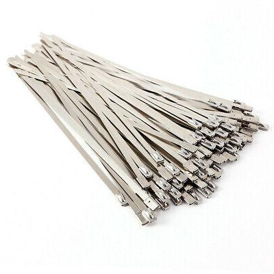Cable Zip Ties 100Pcs Anti-corrosion Replacement Fasteners A