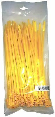 "Cambridge 100 pcs- 8"" 50 Lbs Tensile Strength, Standard Duty"