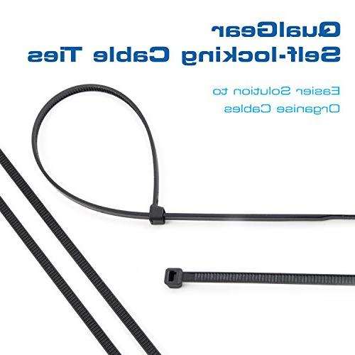 QualGear Cable Ties, 8-Inch, Bag