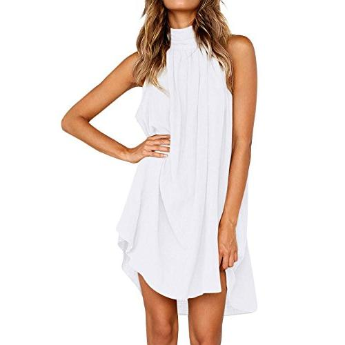 dress summer beach sleeveless party