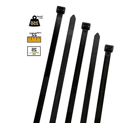BuyCableTies Extra Heavy Duty Cable Ties - 250 lb Rated 22 i
