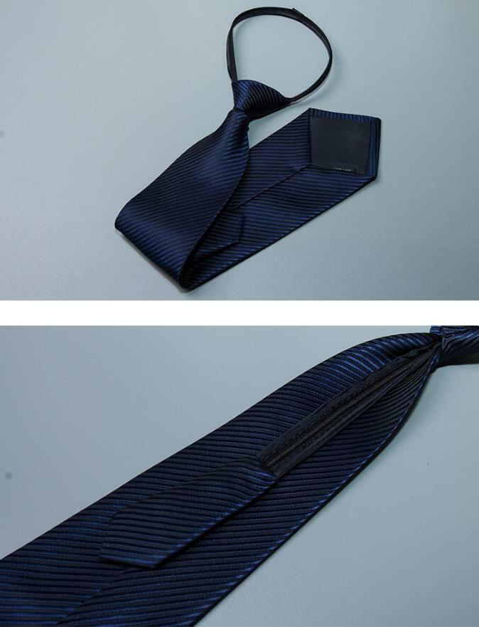 Lazy Solid Casual Slim Up Neck Tie USA