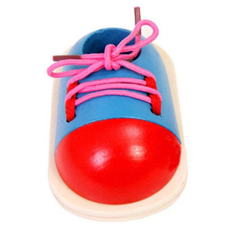 Dress Snap Shoe and Learning Life Skills Teaching Toy