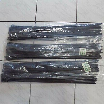 "NEW 150 Black 28"" Cable Zip Ties Tie"