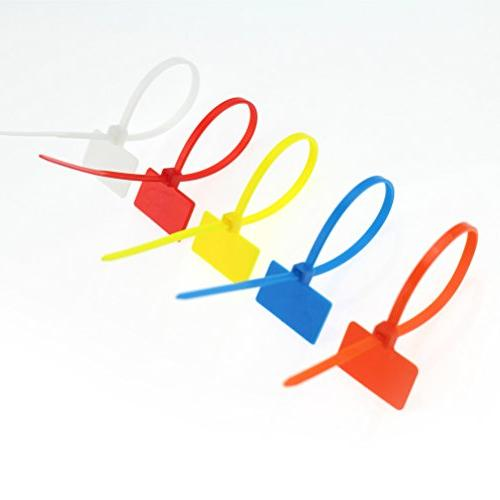 Colors Ties inches Write on Wire Zip Nylon Power