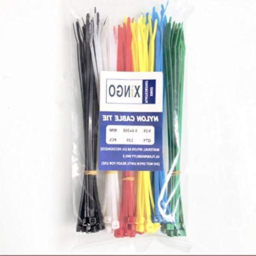 Xingo 8 Cable Self-Locking 6 Colors Assorted