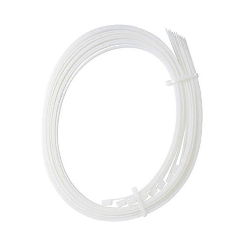 Gardner Cable 180 lb, Electrical Wire and Zip Tie, 50 Pk, Natural White