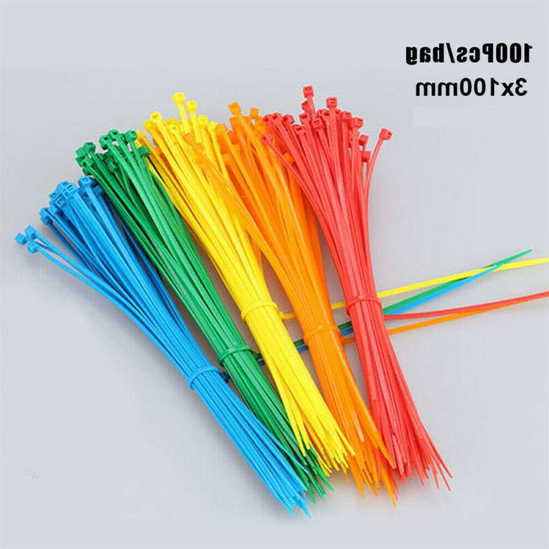 NYLON CABLE TIES ZIP WRAPS Thin Long Wide