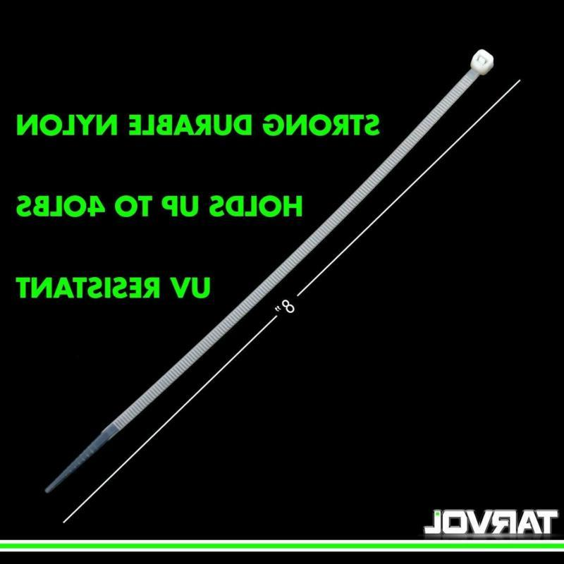 Tarvol 8 Inch Locking Cable Ties